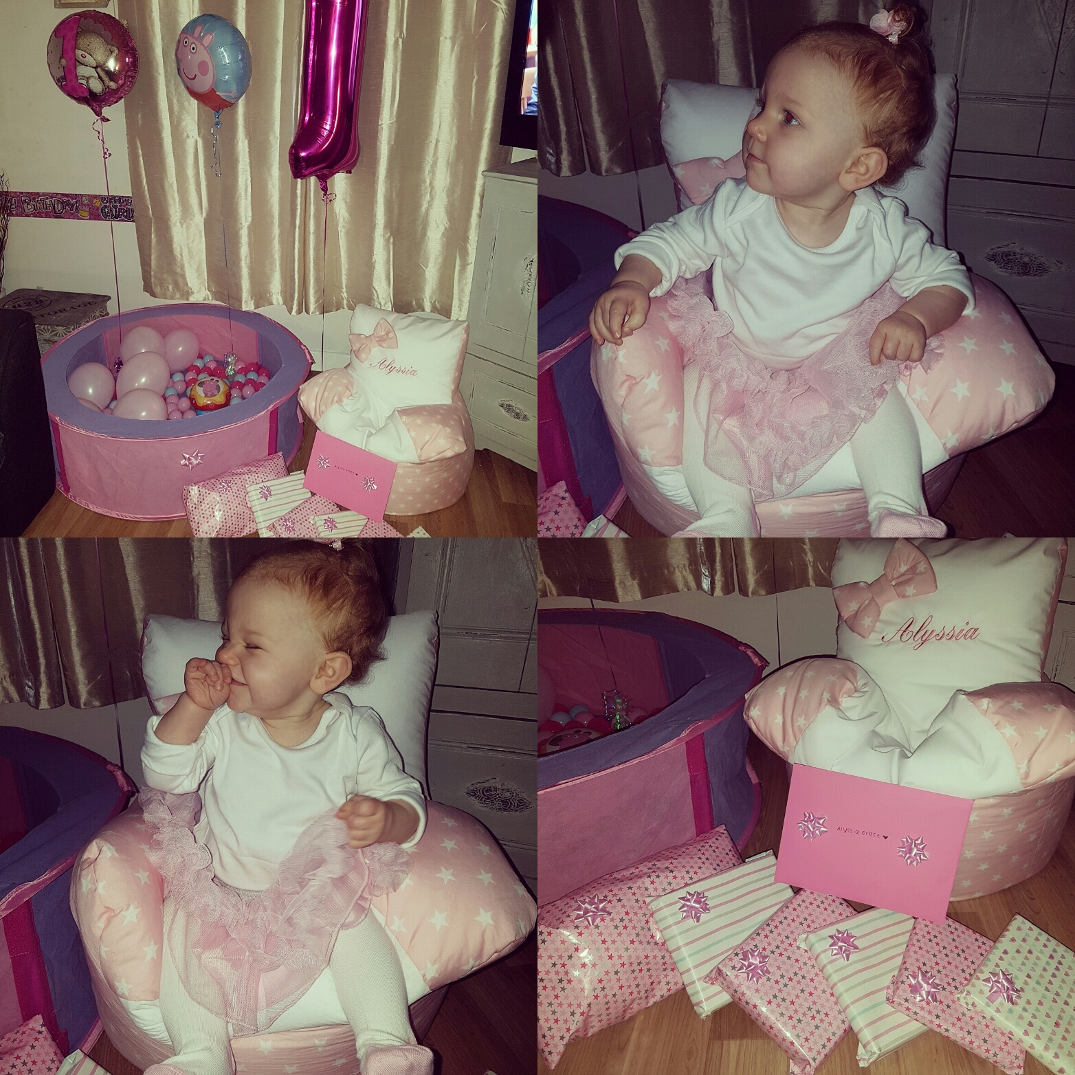 Alyssias 1st birthday