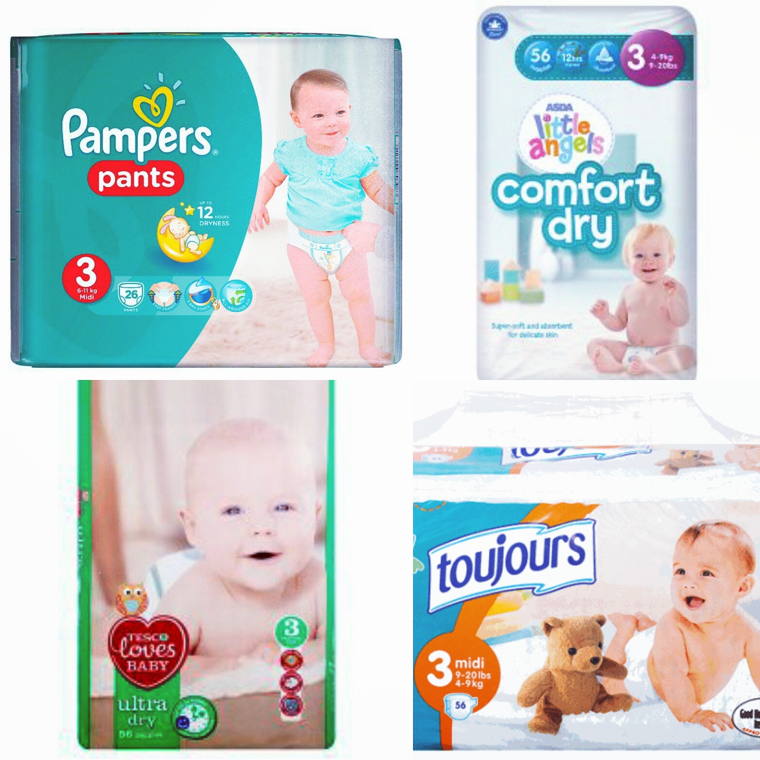 Product review on nappies and baby wipes